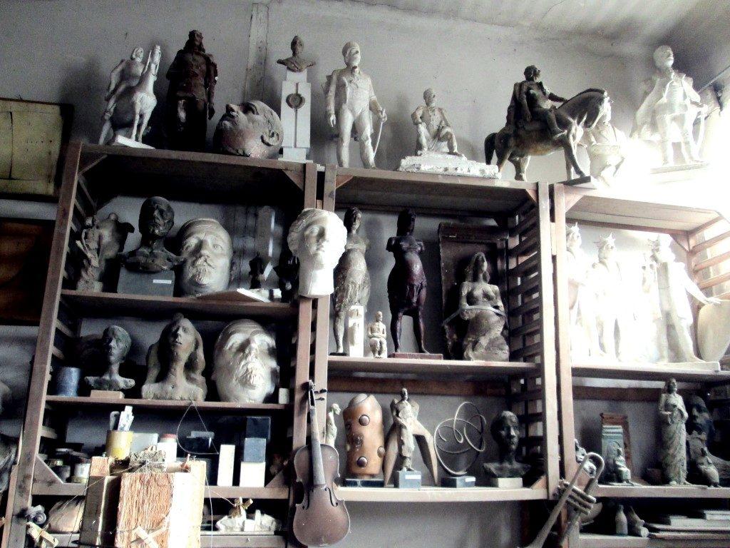 În atelierul unui sculptor clujean Ilarion Voinea Cluj (12)
