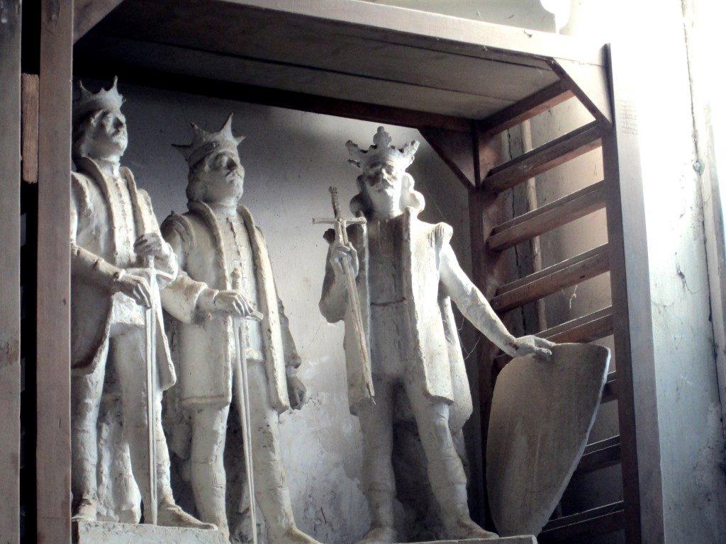 În atelierul unui sculptor clujean Ilarion Voinea Cluj (3)