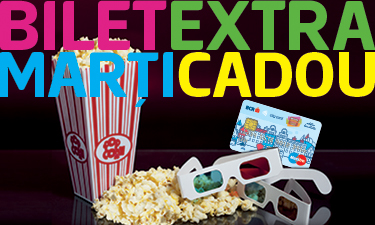 bcr city card cinema city 1+1 bilete