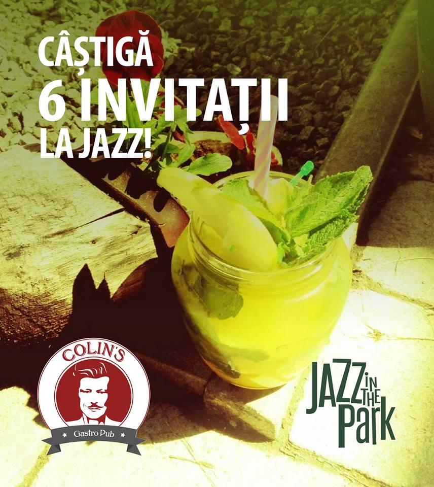 concurs jazz in the park concerte invitatii