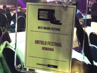 UNTOLD a câștigat premiul BEST MAJOR FESTIVAL