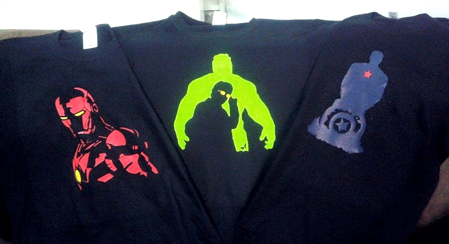 super tricouri cu super eroi refresh print cluj