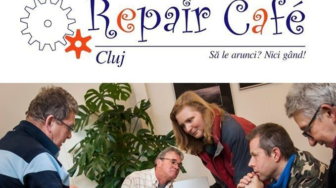 Repair Cafe, cluj, lucruri, societate durabila, orasul vizibil, cinema marasti