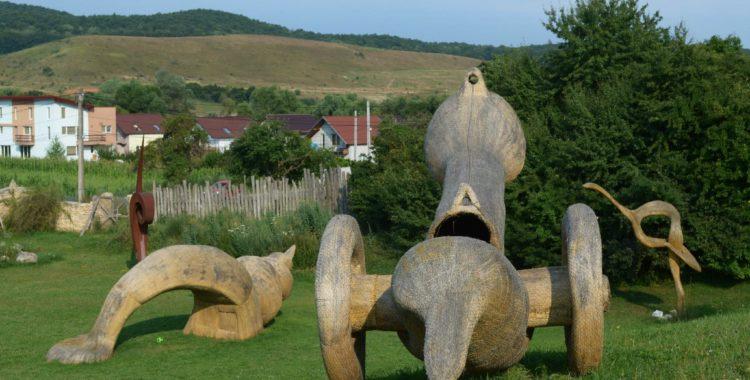 arkhai sculpture park cluj vlaha parc artistic