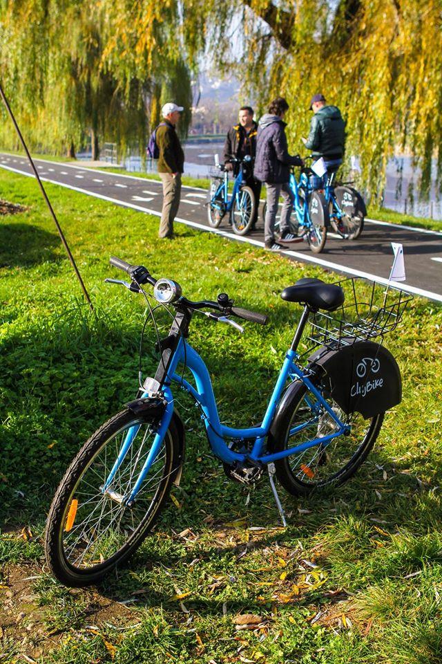 bike sharing cluj bike card primarie