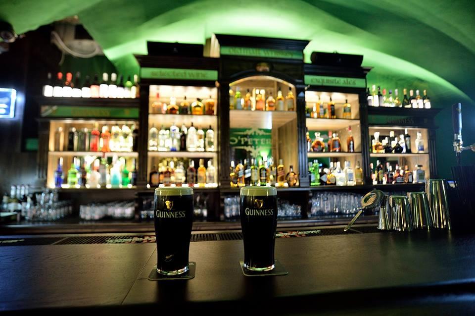 "O'Peter's Irish Pub: ""Be touched by a bit of Irish luck!"""