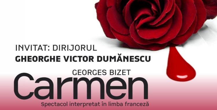 """Opera """"Carmen"""", de Georges Bizet, la teatrul liric clujean"""