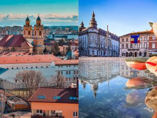 Clujul în 13 fotografii din martie 2021 | Retrospectivă FOTO