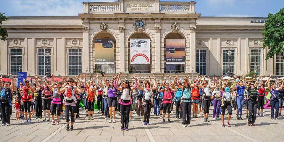 Kangatraining Flashmob Charity
