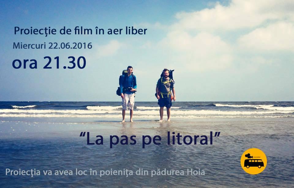 """Proiecție Cinemobilul / Documentarul """"La pas pe litoral"""""""