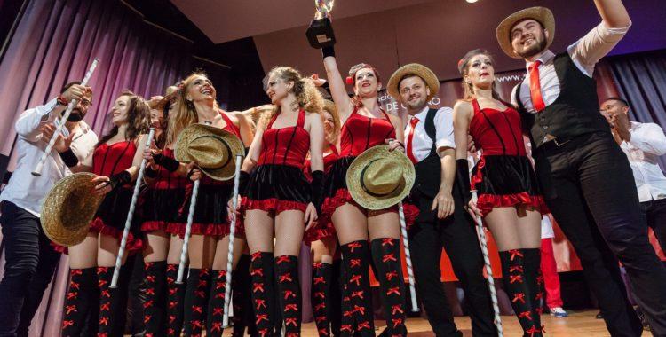 Dance School Bailarte pune Clujul pe harta campionilor europeni