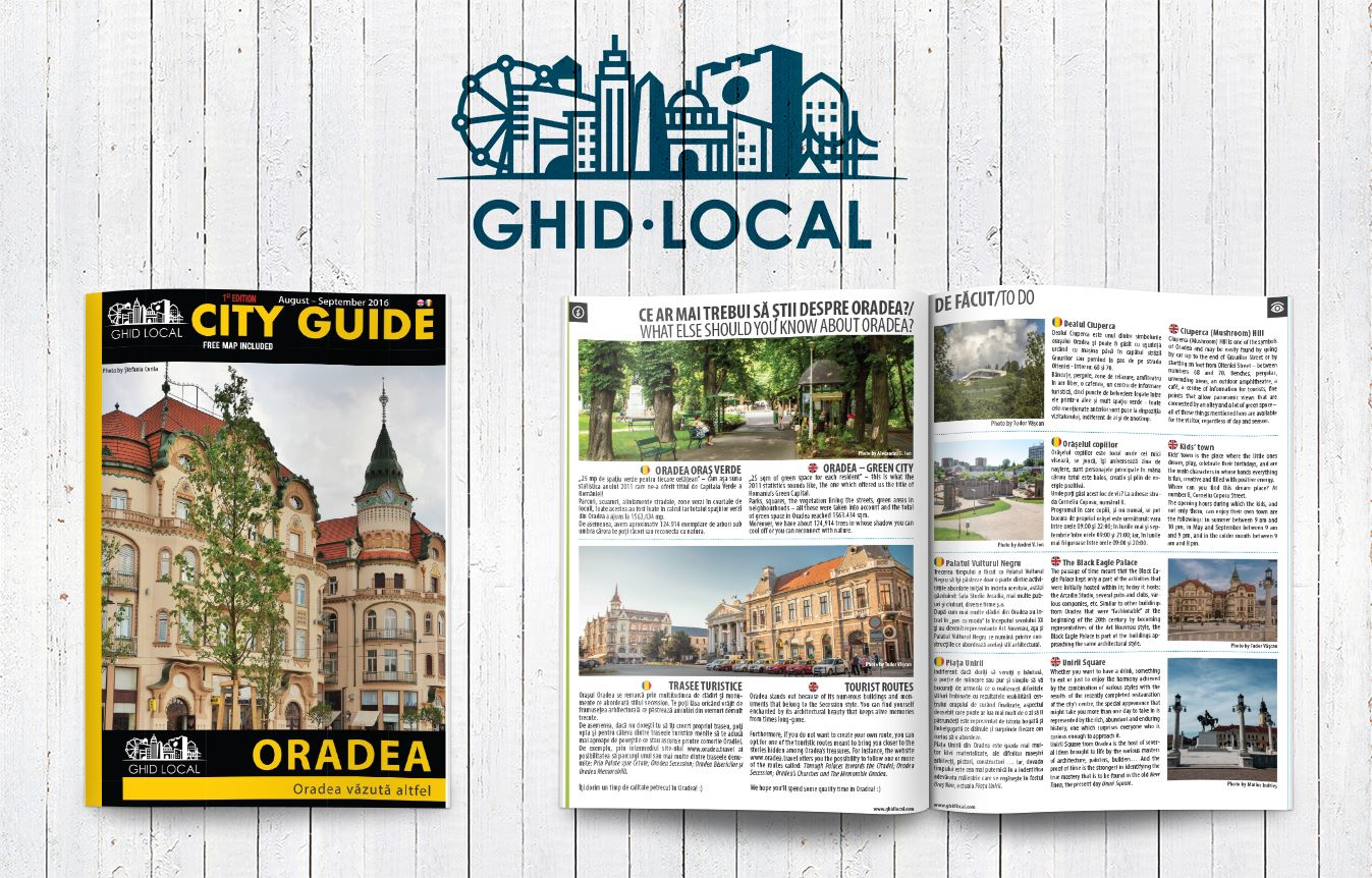 City Guide s-a lansat și în Oradea