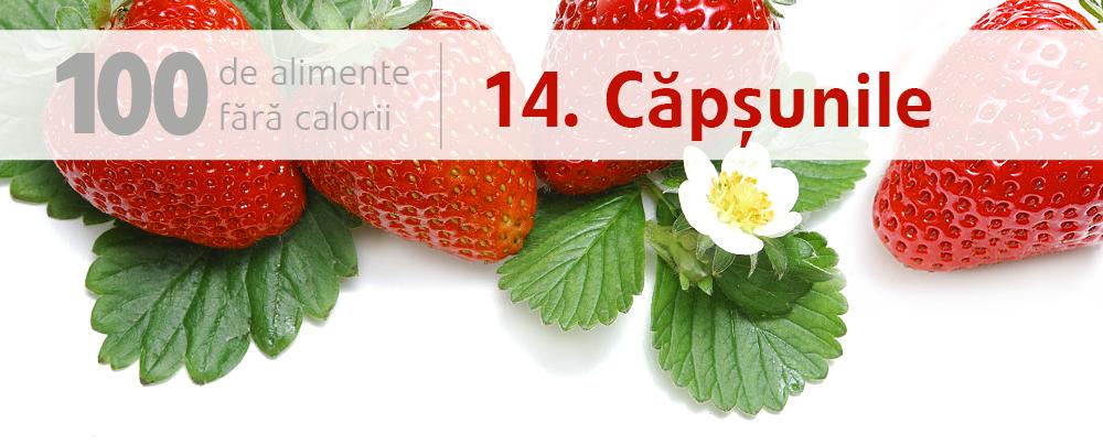 căpșunele 100 de alimente fara calorii