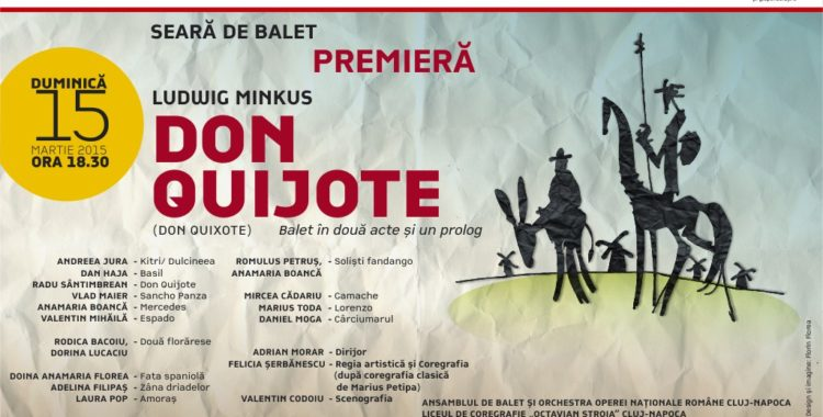 Premiera - eveniment la Opera Nationala: Don Quijote