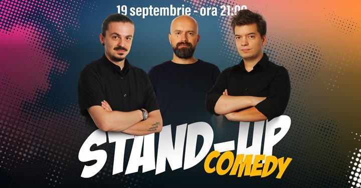 Stand-up Comedy cu Sergiu, Toma și Cristi Popesco