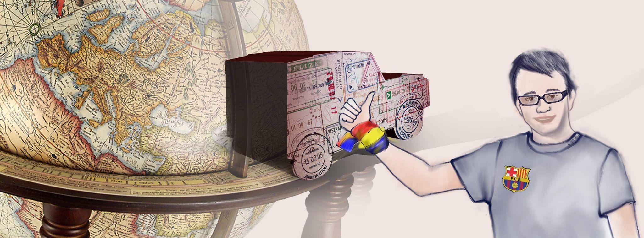 înconjurul lumii cu autostopul cluj timotei rad