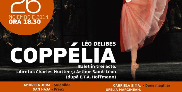 Coppélia, dansul balerinei fermecate