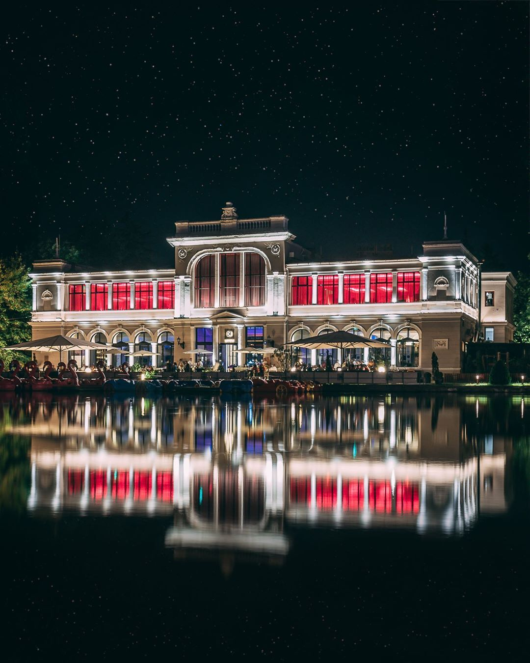 lac chios noaptea