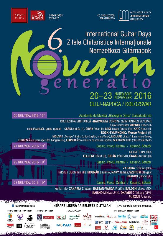 Festivalul de chitară Novum Generatio | Festivaluri | Cluj.com