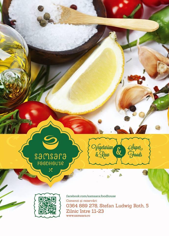 Noutăţi sănătoase şi gustoase de la Samsara Foodhouse