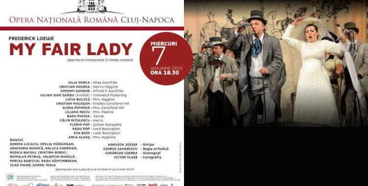 My Fair Lady, primul spectacol din an la Opera Română