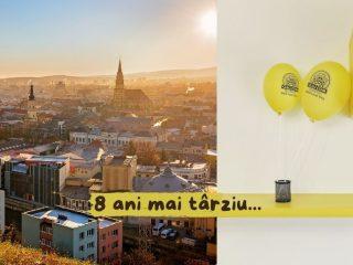 8 ani mai târziu: o aniversare atipică (și) pentru Cluj.com