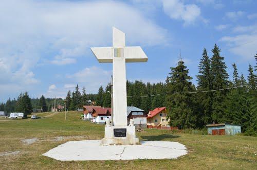 Crucea lui Avram Iancu din Statiunea Baisoara