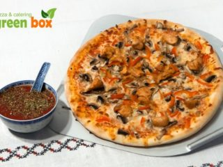 green box pizza cluj