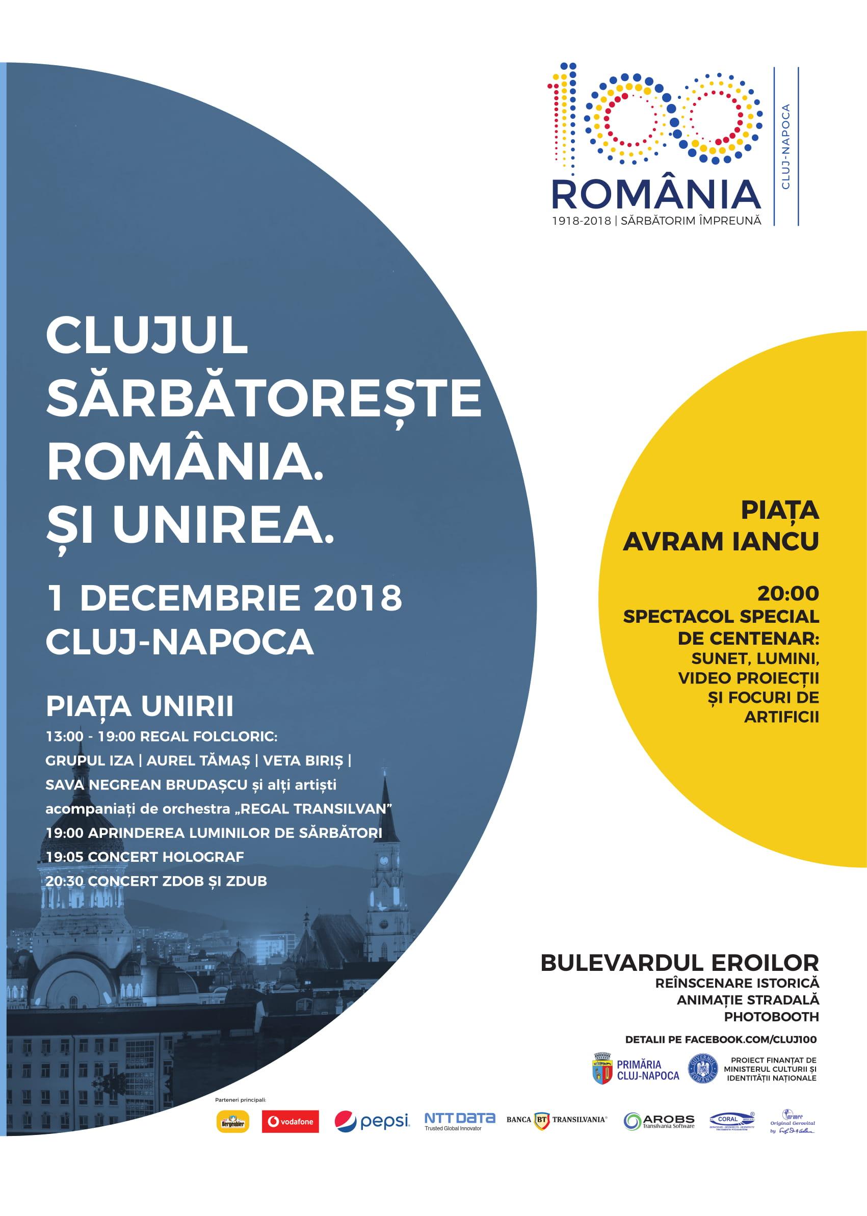 Evenimente 1 decembrie 2018