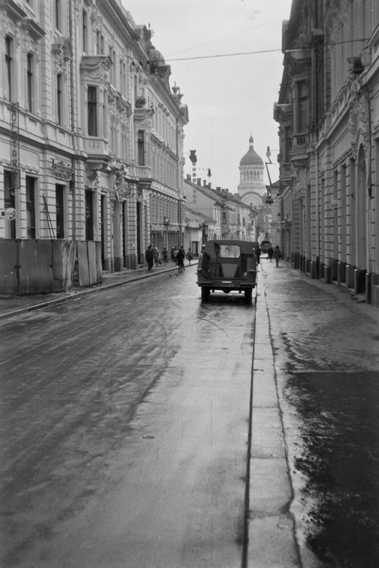 Actuala strada Iuliu Maniu in anul 1965