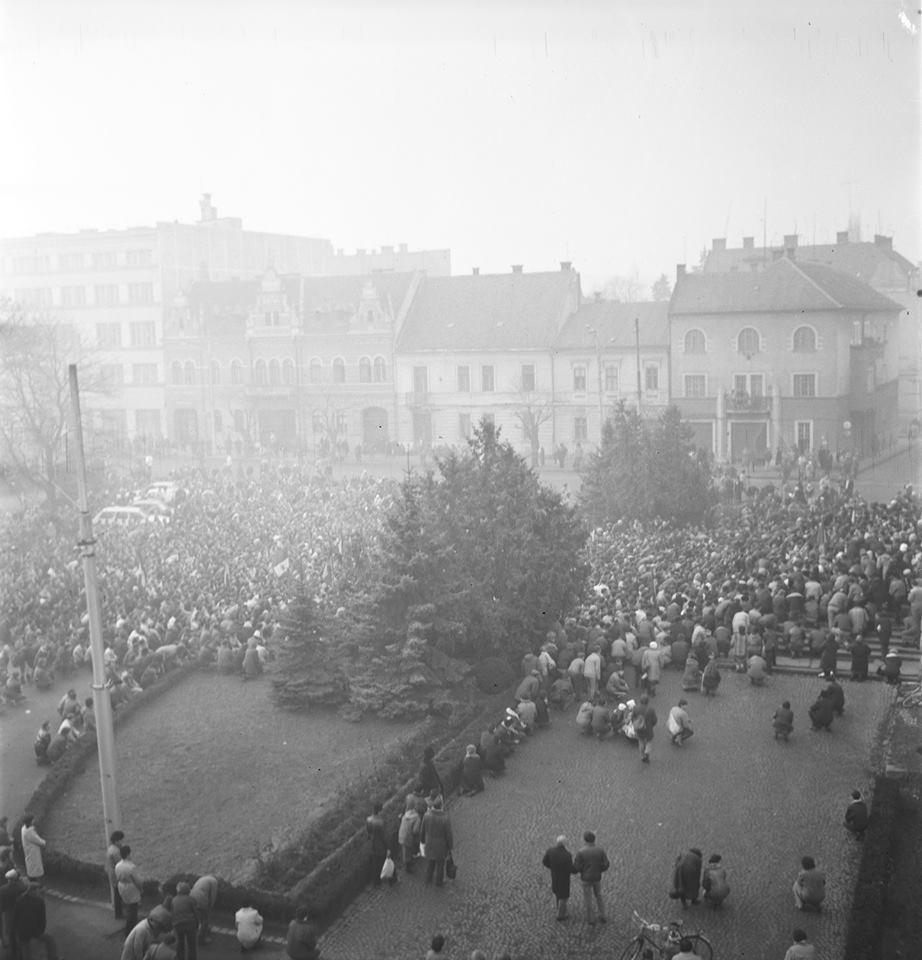 Adunare Revoluția din 1989 la Cluj