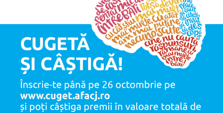 Înscrie-te la Olimpiada de Cultură Generală a Tinerilor Clujeni – CuGeT