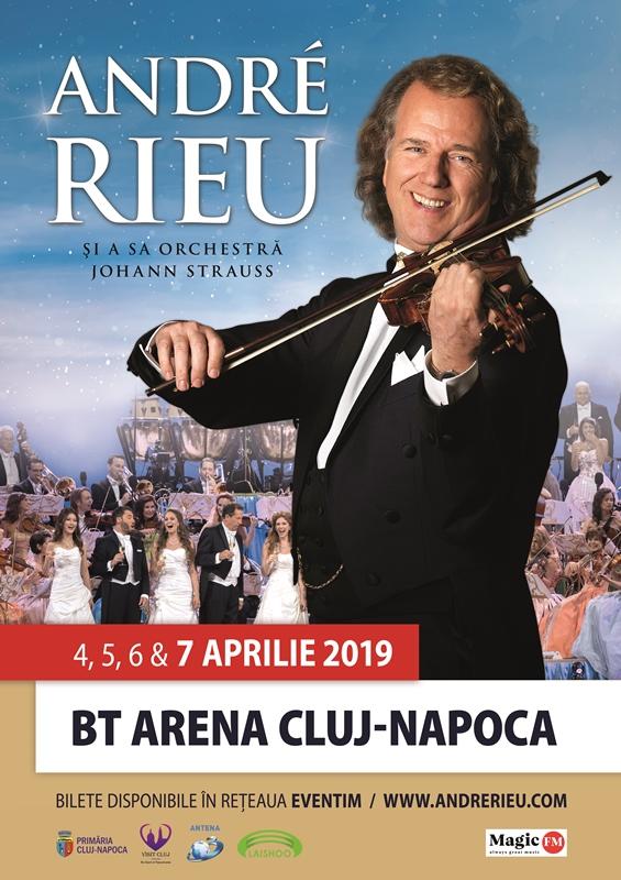 concert Andre Rieu la Cluj