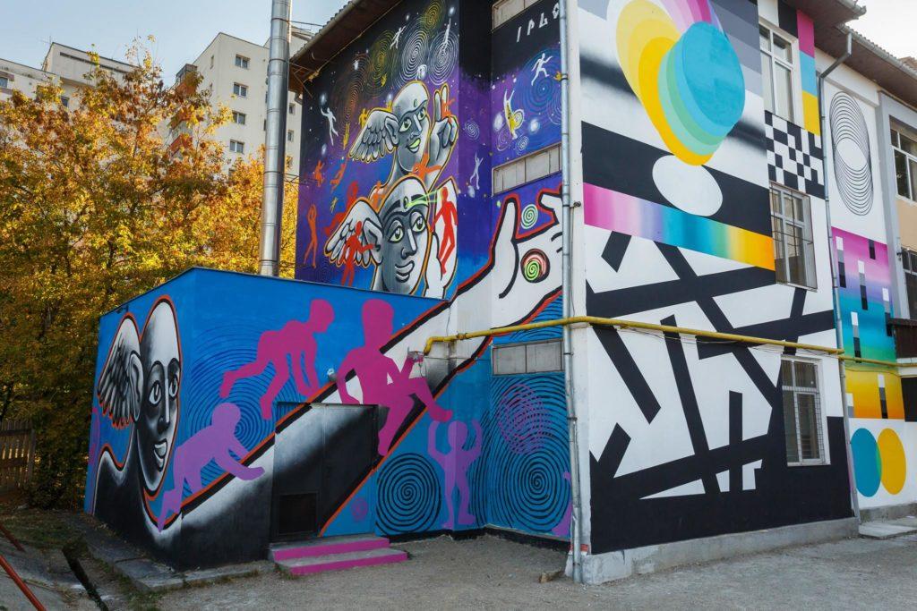 Artiștii stradali