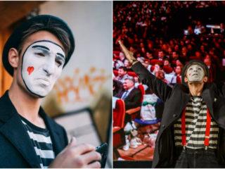 """Artistul Altfel: Mimo Poetul, dincolo de mască. ,,Cel mai greu este să mimezi tristețea"""""""