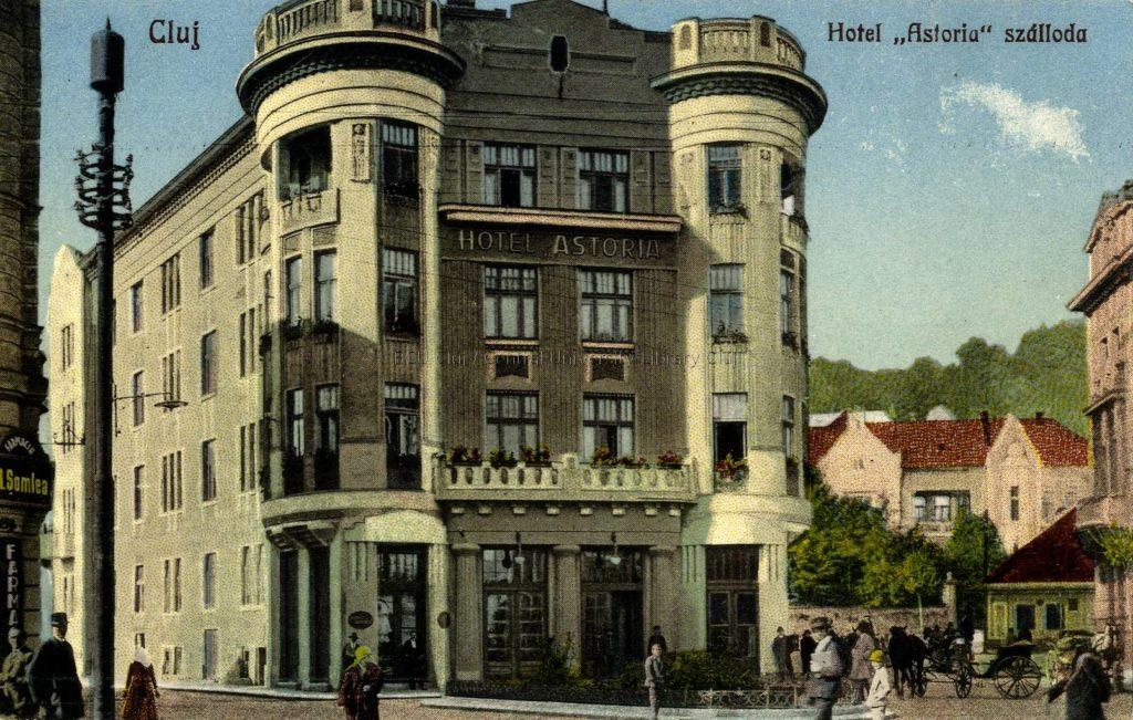 Astoria clădirile Clujului