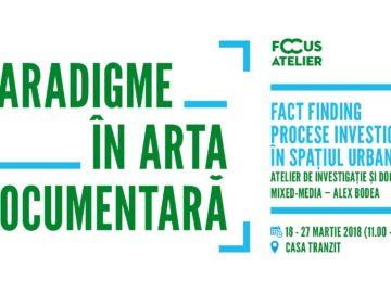 Atelier de investigație și documentare mixed-media
