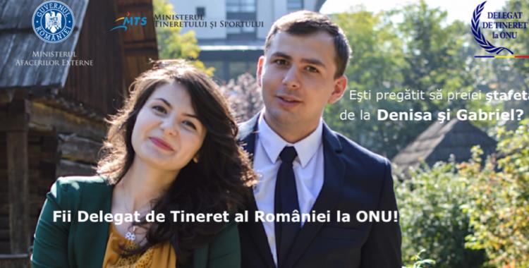 Au început înscrierile pentru următorii Delegați de Tineret ai României la ONU