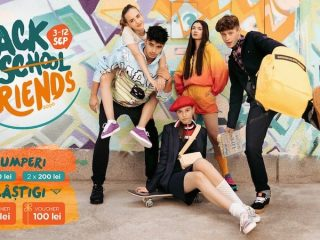 """Back to (school) friends!"" cu premii și outfit-uri stylish din Iulius Mall Cluj"