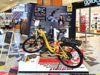 #Backtoschool la Iulius Mall vine cu 5 biciclete pegas și peste 2.000 de alte premii
