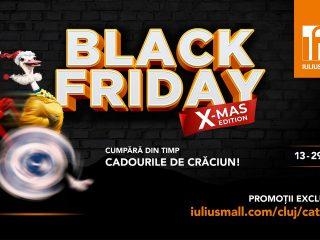 Moș Crăciun alege din timp darurile la Iulius Mall Cluj! | Black Friday X-MAS Edition