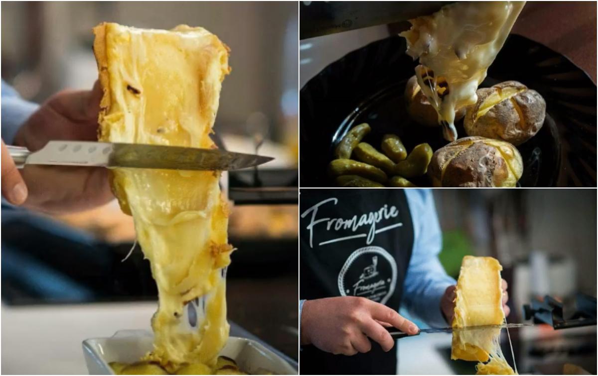 Din Franța și Elveția, brânzeturi fine: Raclette Bar   Fromagerie Cluj