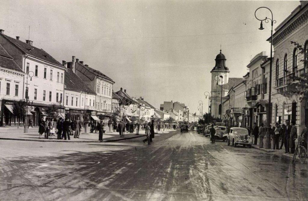 Bulevardul Eroilor in anii '40