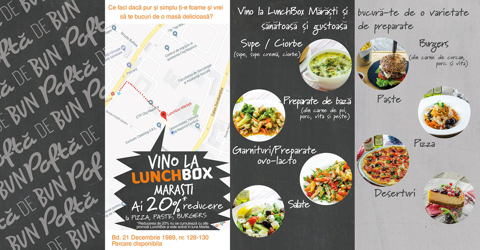 Burgeri, pizza si paste - vedetele lunii Martie la Lunchbox Marasti (2)
