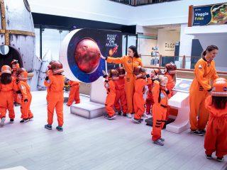 Călătorii pe Marte pentru prichindei la Iulius Mall Cluj