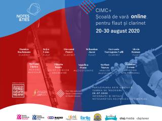CIMC+: Școală de vară pentru flaut și clarinet | Înscrierile continuă!