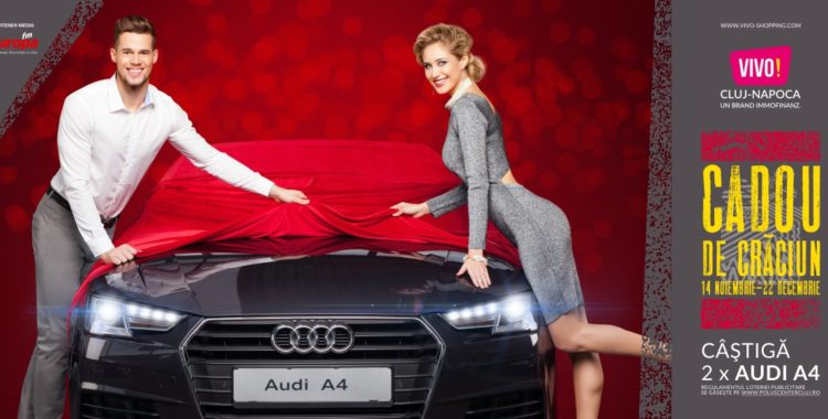 Cadou de Crăciun de la VIVO! Cluj-Napoca: 2 x Audi A4