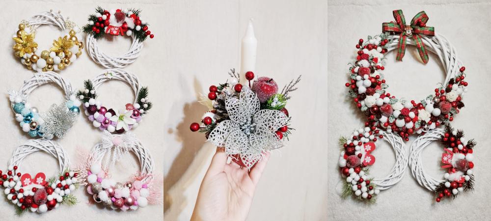 Cadouri de Crăciun - Coronițe