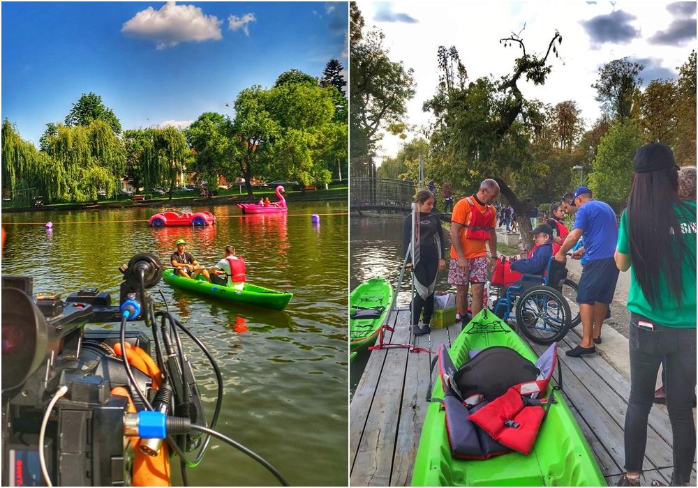 Caiac Smile Cluj - Evenimente sportive pentru tineri cu nevoi speciale 2