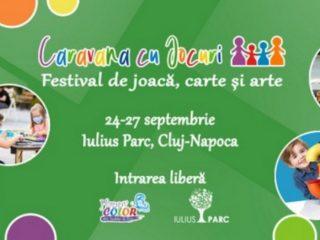 Festival cu jocuri, ateliere de creație și târg de carte, săptămâna aceasta, la Iulius Mall Cluj